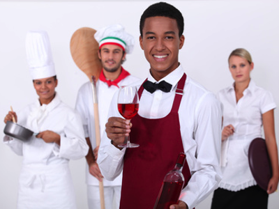 Berufsbekleidung für Gastronomie bedrucken lassen
