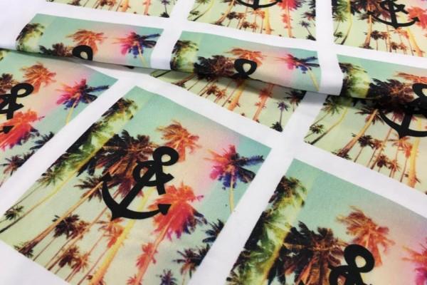 Digitaldruck kornet auf Textilien
