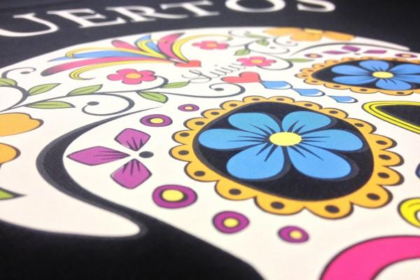 Digitaldruck auf T-Shirt
