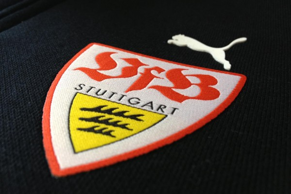 Gewebtes Logo von VFB Stuttgart by AA Textidlruck