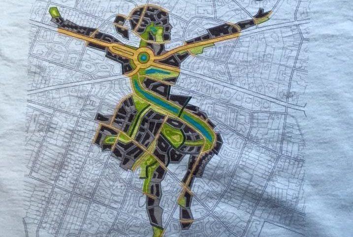 Textildruck auf T-shirt mit Digitaldruck in Hannover